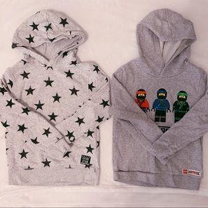 H&M Little Boy Hooded Sweatshirt-Bundle of 2